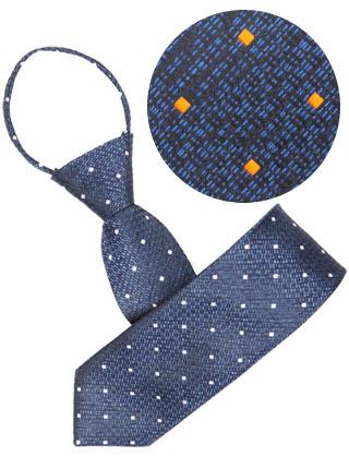 LTIE-042 도트넥타이 (자동) 화이트,오렌지 ★재입고 [제작 대량 도매 로고 인쇄 레이저 마킹 각인 나염 실크 uv 포장 공장 문의는 네이뽕]