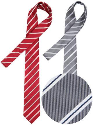 LTIE-048 은갈치넥타이 (솔리드) 레드,그레이 [제작 대량 도매 로고 인쇄 레이저 마킹 각인 나염 실크 uv 포장 공장 문의는 네이뽕]