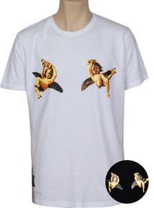 MTS-349  마이엔젤 티셔츠 화이트,블랙